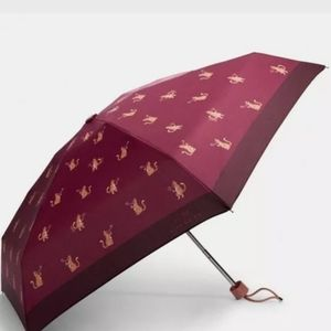 NWT Coach Mini Umbrella